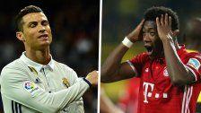 Alaba trifft mit Bayern treffen auf Real Madrid