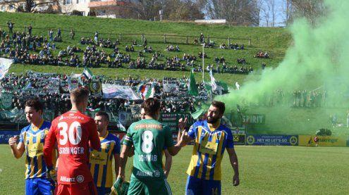"""""""Rettungsspiel"""": Rapid siegte 4:0 bei Benefizmatch gegen Vienna"""