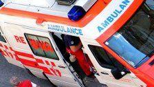 Arbeiter in Wien 12 Meter abgestürzt