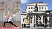 Wiener Albertina lädt zum Yoga im Musensaal