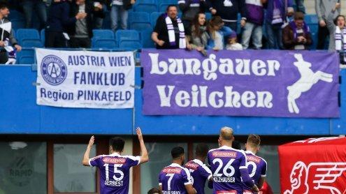 Festnahmen und Anzeigen beim Spiel Austria gegen Sturm Graz
