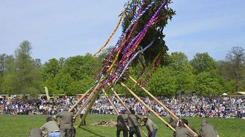 Traditionelles Frühlingsfest im Lainzer Tiergarten am Samstag