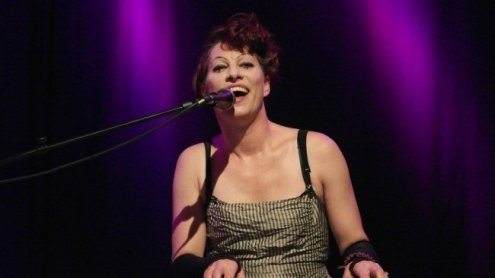 Amanda Palmer und Edward Ka-Spel live im Porgy & Bess Wien