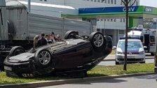 Schwerer Unfall mit vier teils schwer Verletzten