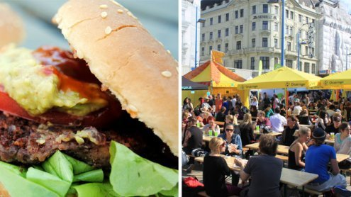 Veganmania in Wien ist im Gange