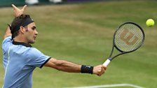 Federer erreichte in Halle zum elften Mal das Finale