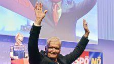 Franz Schnabl ist neuer Vorsitzender der SPÖ NÖ
