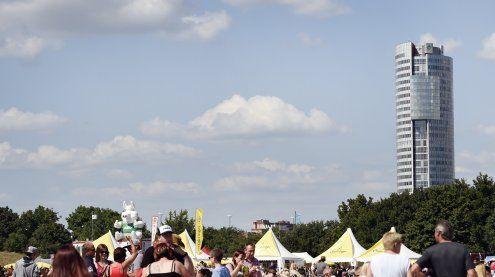 Nach Unwetter in Wien: So wird das Wetter beim Donauinselfest