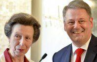 Britische Prinzessin Anne erhielt Auszeichnung in Wien