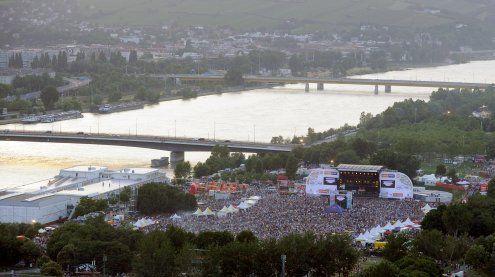 Das 34. Donauinselfest startet