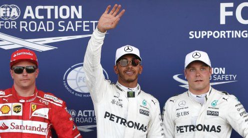 Hamilton übertrifft Senna-Markemit Poleposition in Aserbaidschan