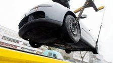 Falschparker-Warnung: Es wird rigoros abgeschleppt