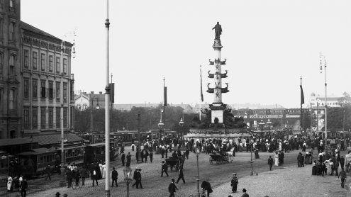 Denkmal am Praterstern wird erstmals nach 130 Jahren saniert