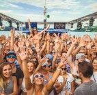 Die heißeste Party-Location der Beach-Volleyball WM: Das Swatch Beach Boat