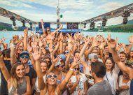 Die heißeste Party-Location: Das Swatch Beach Boat