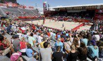 Sonniger Auftakt zur Beach-Volleyball-WM