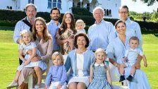Schwedische Royals schicken Sommergrüße