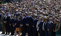 Trauerfeier nach Terror-Anschlägen in Spanien