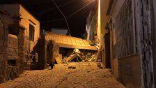 Zwei Tote bei Erdbeben auf Urlaubsinsel Ischia