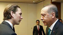 """Kurz wirft Erdogan """"diktatorische Züge"""" vor"""