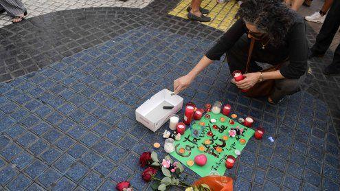 Terror: Trauerminute in Wien