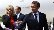 Salzburg: Französischer Präsident trifft Kern