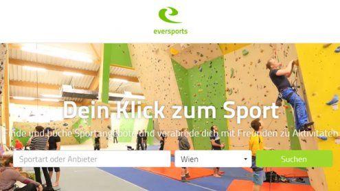 """""""Eversports"""": Start-Up bringt Plattform für Sportangebote"""
