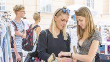 Fashion am Marktplatz beim Food Festival