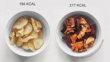 """Vergleich: So ungesund sind """"gesunde"""" Snacks"""