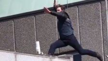 Drehpause: Tom Cruise bricht sich Fuß bei Stunt