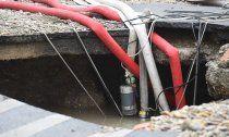 Breitenfurter Straße wegen Wasserrohrbruchs gesperrt