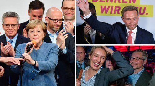 """""""Desaster, Debakel!"""": So reagiert die Presse auf die deutsche Wahl"""