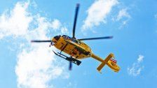 Sturz aus 6,5 Metern: Mann schwer verletzt