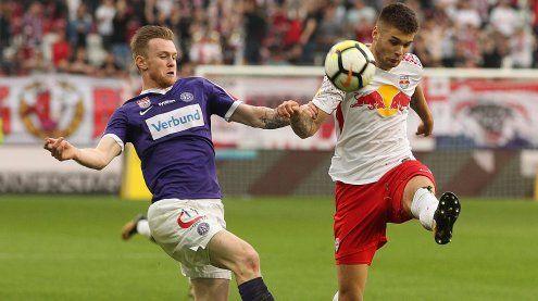 Müdes 0:0 im Bundesliga-Spiel Salzburg gegen Austria Wien