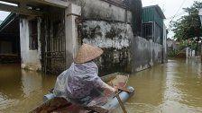 Bereits 75 Tote durch Hochwasser in Vietnam