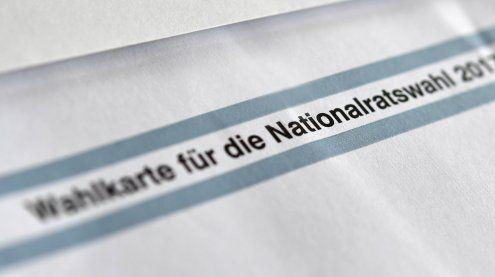 Ersten Briefwahlstimmen beim Wahlergebnis: SPÖ wird Zweite