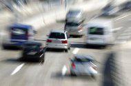 A4 bei Schwechat früherals geplant baustellenfrei