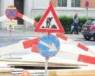 Straßenbauarbeiten am Wochenende in Wien-Favoriten