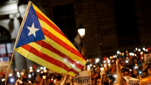 Katalonien: 200.000 protestieren gegen Aktivisten-Inhaftierung