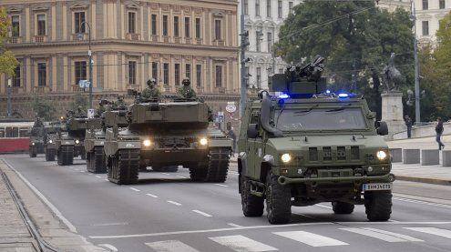 Panzerkonvoi: Verzögerungen und Sperren in Wiener Innenstadt