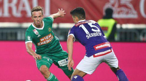 Rapid nach Wiener Fußball-Derby gegen Austria weiter im Hoch