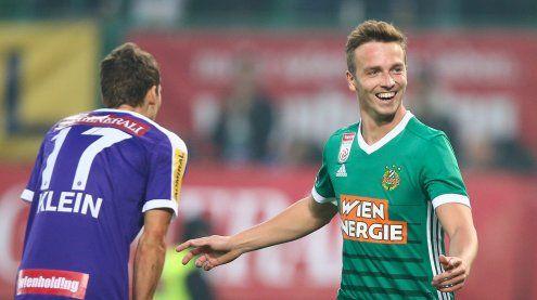 Rapid Wien holt sich Derby-Sieg