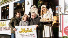 Ströck-Weihnachtsbim fährt für den guten Zweck