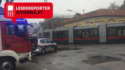 Stromstörung und Falschparker legten drei Wiener Bims lahm