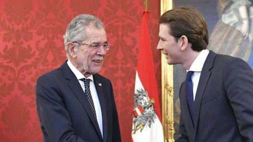 "Kurz sei ein ""irritierender junger Mann"": Van der Bellen-Protokoll"