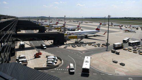Flughafen Wien: Hohes Passagier-aufkommen seit Jänner 2017