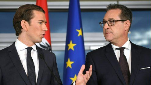 ÖVP-FPÖ-Regierungsprogramm wurde am Samstag vorgestellt