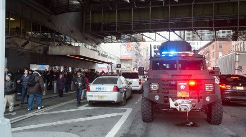 Explosion in New Yorker U-Bahn-Station war Terroranschlag