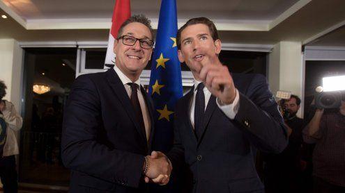 Das sagt die Internationale Presse zur neuen ÖVP-FPÖ-Koalition