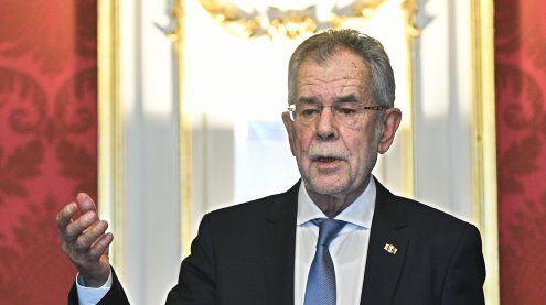 Van der Bellen lobt Regierung am Montagvormittag in Hofburg an
